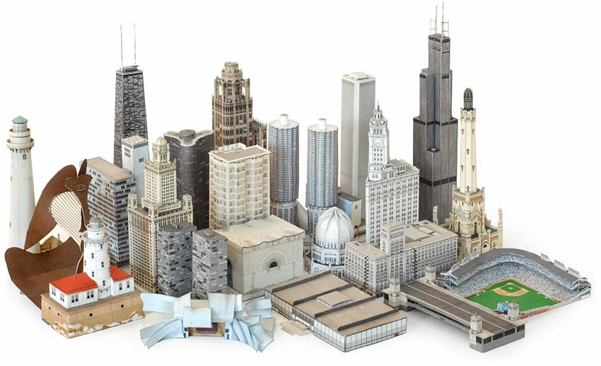 Chicago Paper Architecture