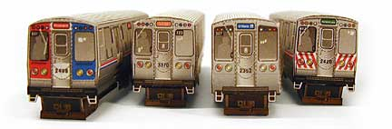 CTA Train Models