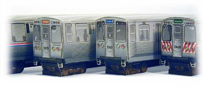 Elevated Train models