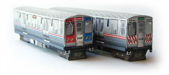 CTA trains model