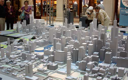 Pictures Of Toy Models Of Cities : Chicago in miniature
